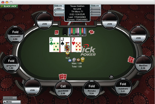 Betclic poker mac