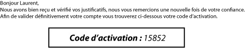 code activation Betclic