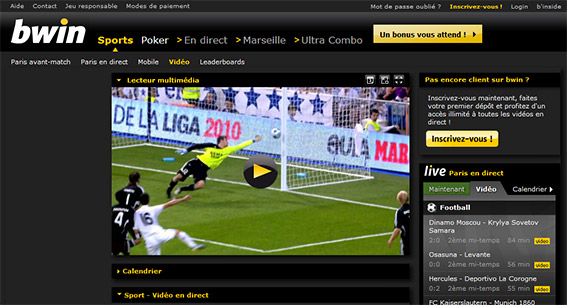bwin direct video