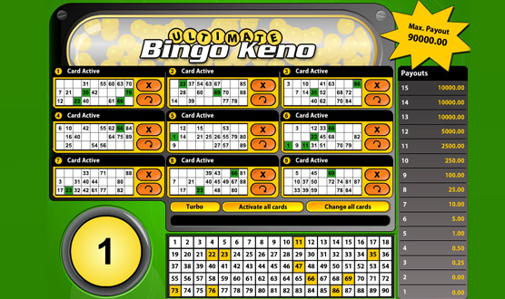 Ultimate Bingo Keno