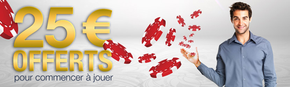 bonus 25€ everest poker