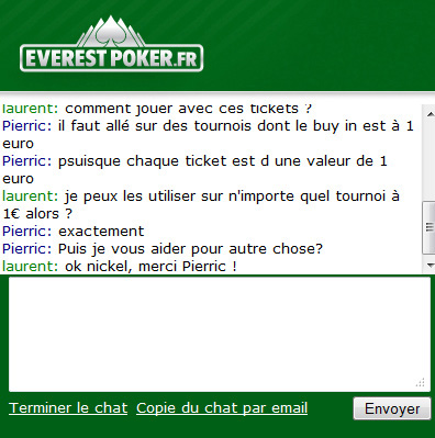 chat everest poker