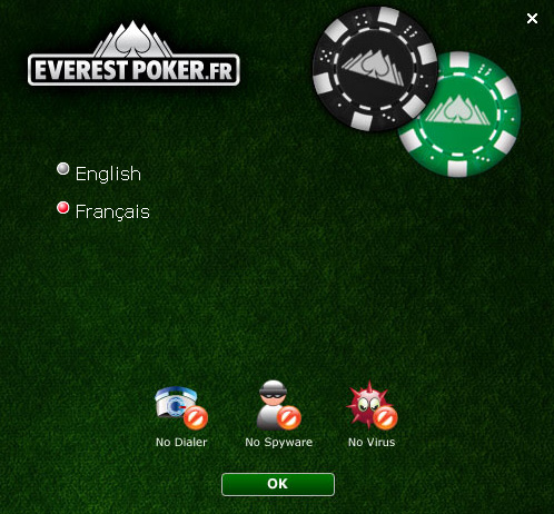 langue everest poker