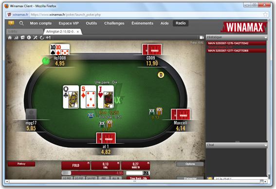 Jouer poker sans compte bancaire