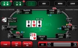 application poker star argent reel