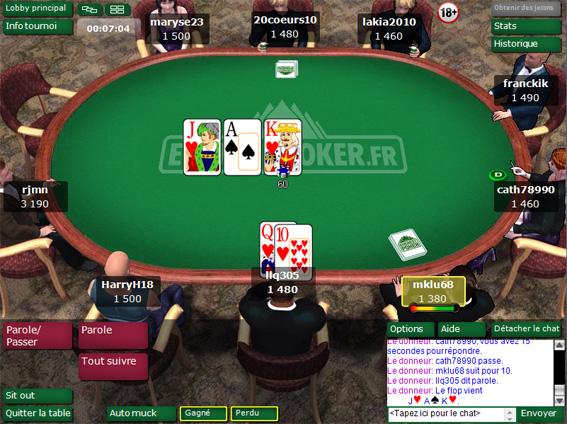 everest poker test
