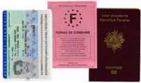 validation rib carte identité passport
