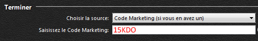 code marketing pokerstars