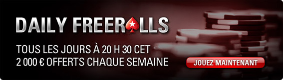 daily freeroll pokerstars