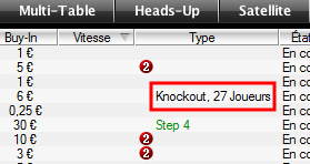 knockout sit and go pokerstars