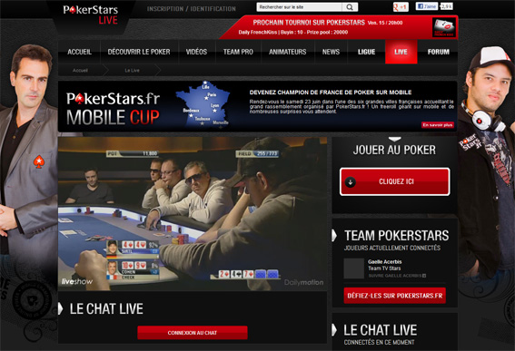 site pokerstars live