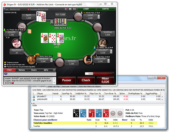 tracker pokerstars