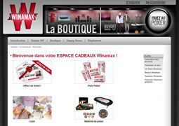 boutique winamax
